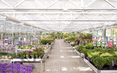 Das Gartencenter bleibt offen