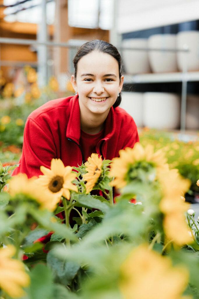 Daniela unsere Gärtnerin EFZ