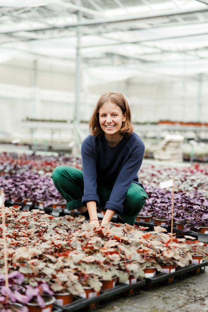 Viola unsere Zierpflanzengärtnerin EFZ