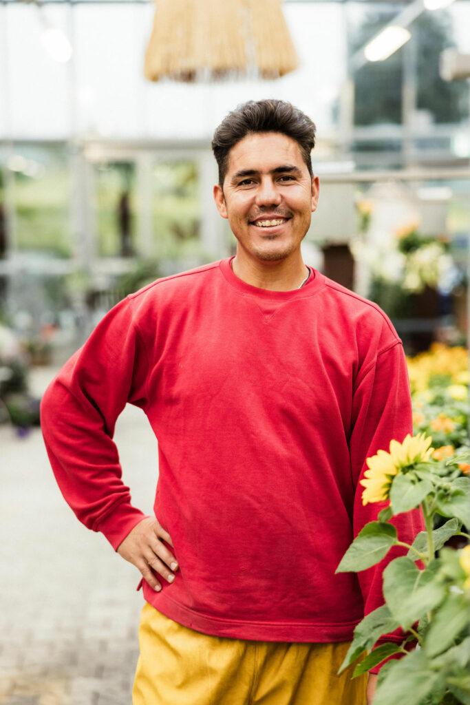Mohammad unser Landschaftsgärtner EBA